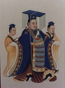 Emperor Wu of Han, the first ruler to officially sponsor Confucianism.